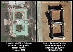 Satellite Imagery: China Staging Mock Invasion of Taiwan?