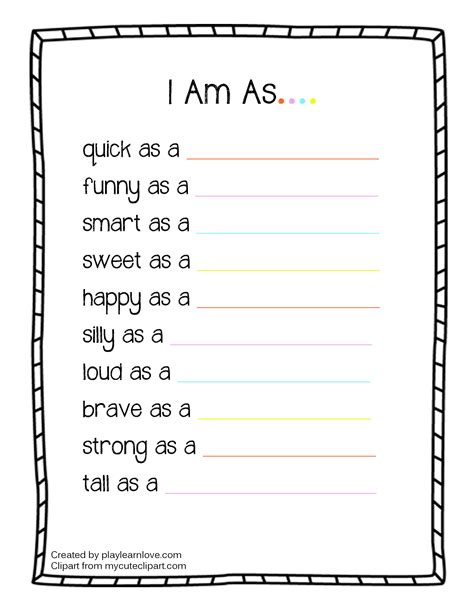 all about me worksheet free pdf the best worksheets image