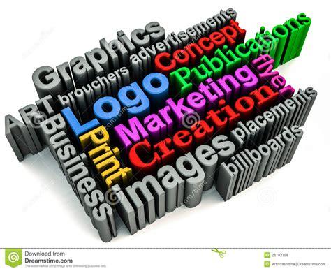 Graphics Branding Concept Stock Illustration Image Of