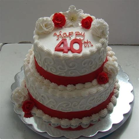40th wedding anniversary cake decorations 2 40th anniversary cake sweet memories 1118