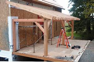 Ideal Porch Roof Framing Options  U2014 Built With Polymer Design