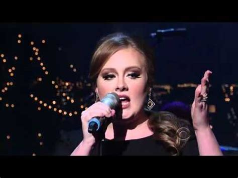 Adele  Rolling In The Deep (live Video) Youtube