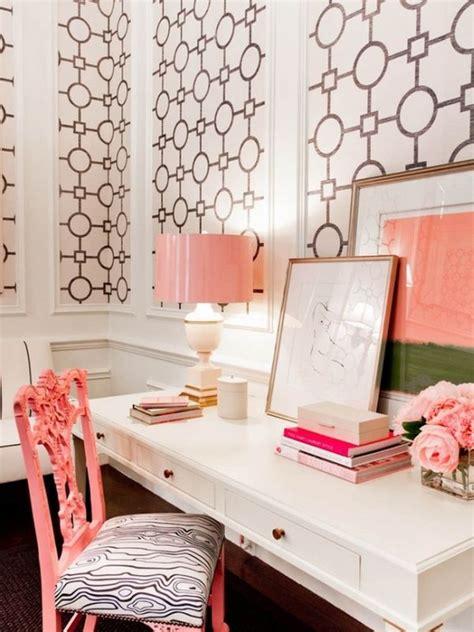 girly office desk accessories uk biuro dla kobiety mieszkaniowe inspiracje