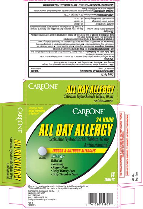 day allergy antihistamine tablet care  american
