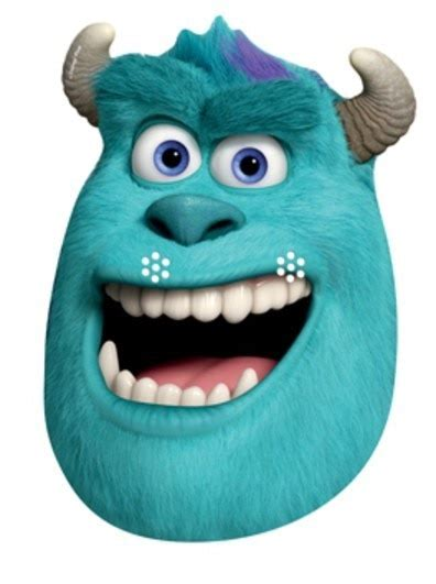 sulley party face mask monsters university
