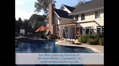 retractable awning company  jersey youtube