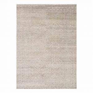 tapis moderne laine gris colors ligne pure 60 x 120 With tapis laine moderne