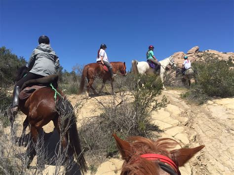 ride california southern horseback riding trough amazing country three side