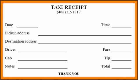 letter heading exle 9 taxi receipt format sletemplatess sletemplatess 32533