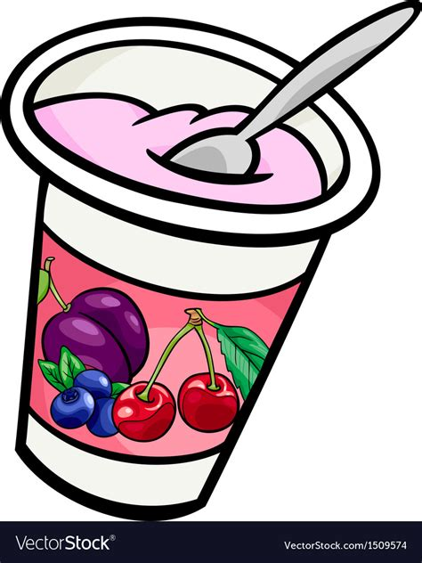 royalty free clipart images yogurt clip royalty free vector image