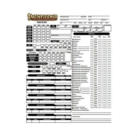 pathfinder advanced template pathfinder templates images gt gt awesome pathfinder templates nexgenbartending templates