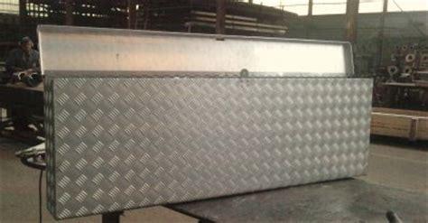 coffre pour outils de camion en alu chaudronnerie technofutur