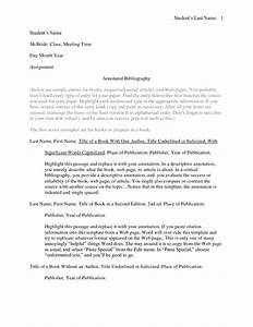 best photos of example of annotated bibliography apa style With template for annotated bibliography apa format
