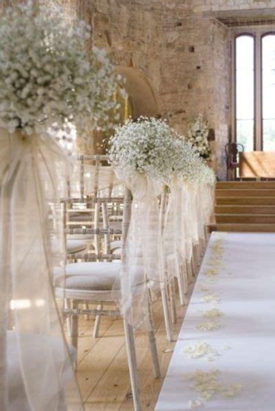 20 Stunning Church Wedding Aisle Decorations Wedding