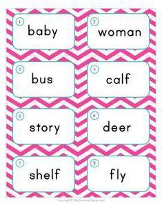 plural nouns images plural nouns word study