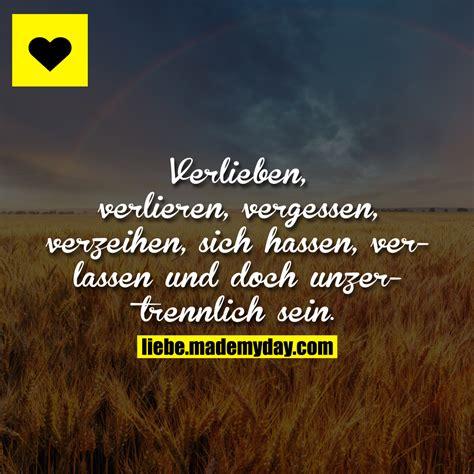 verlieben verlieren vergessen verzeihen sich
