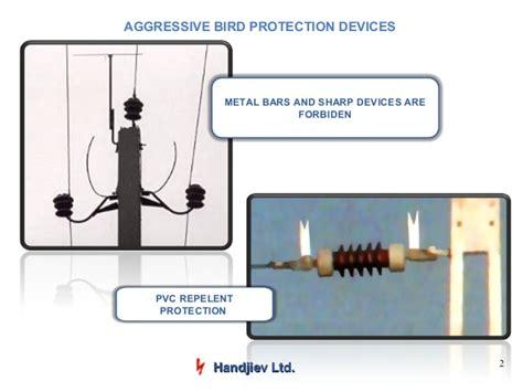 bird protection insulatorsconductor