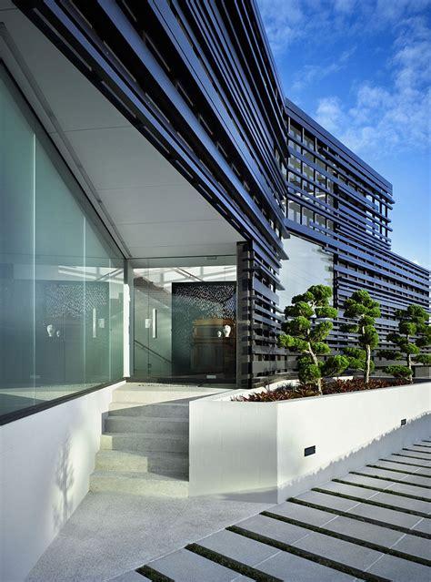 exclusive facade  expansive bay views shape exquisite