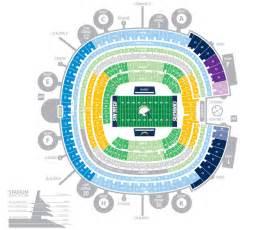 Qualcomm Stadium Seating Chart