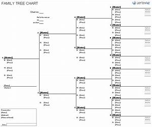 free family tree template printable blank family tree chart With genealogy templates for family trees