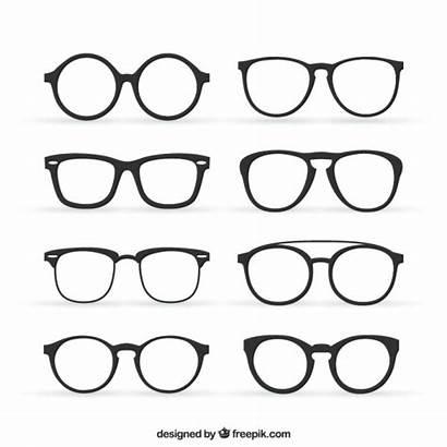 Glasses Vector Eyeglasses Icon Vectors Retro Psd
