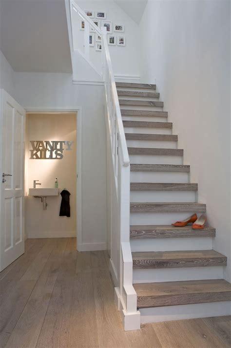 escalier deux tons deco home