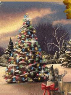 christmas tree screensavers for cell free cell phone