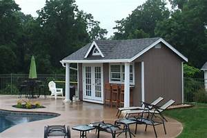 Outdoor and backyard pool house cabana designs for sale for Backyard cabanas for sale