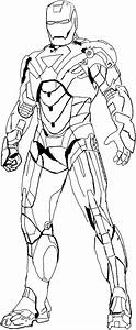Coloring Book Iron Man Pages Free To Print Printable The