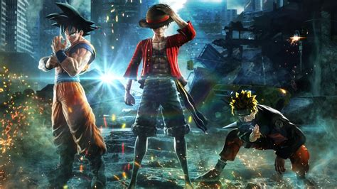 jump force goku naruto luffy   wallpapers hd