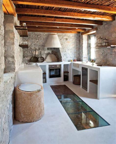 cuisine maison ancienne la cuisine blanche et bois en 102 photos inspirantes