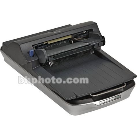 photo scanner with feeder epson perfection 4490 office flatbed scanner b11b176051 b h