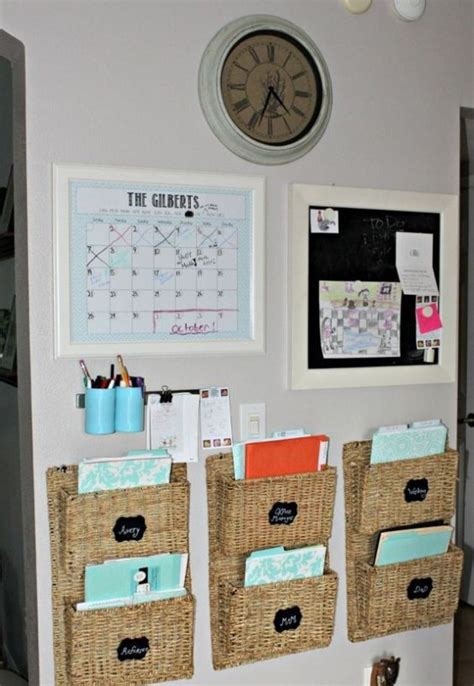 organize  home office  smart ideas digsdigs
