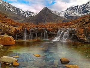 pools isle of scotland desktop wallpaper