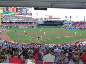 inside Great American Ball Park before opening game ...