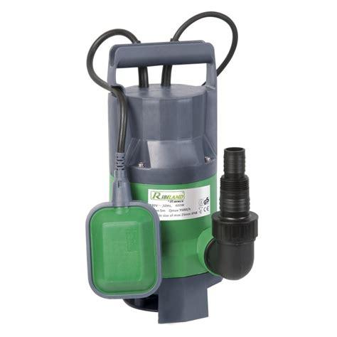 pompe eaux usées pompe vide cave eaux charg 233 es 400w interrupteur flotteur