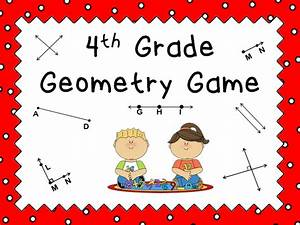 4th Grade Geometry Review Powerpoint Game | Teacher ...