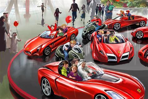 ferrari world ferrari world abu dhabi unveils its attractions and rides