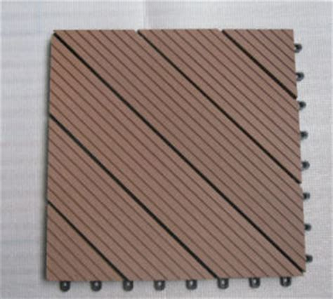 china easy install wpc diy tile wood plastic composite