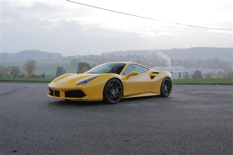 Novitec Rosso Ferrari 488 Gtb Toute Lactu Essais Et