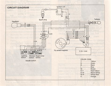 Yamaha Dt 100 Dt175 Enduro Motorcycle Wiring Schematic Diagram by 1975 Yamaha Dt 175 D Service Manual 2019 Ebook Library