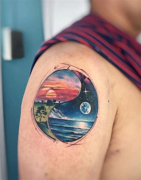Day and Night Tattoo - InkStyleMag