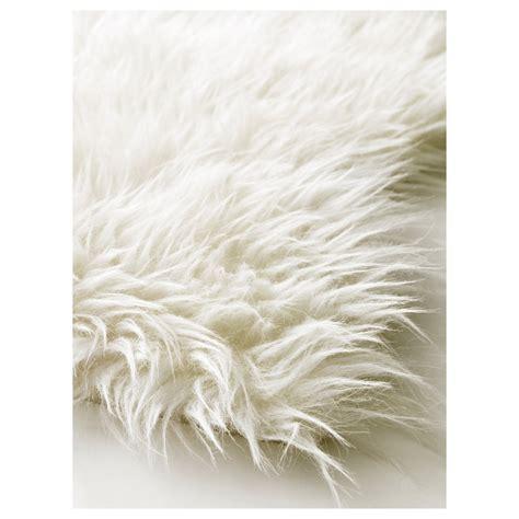 flokati teppiche tejn rug white ikea