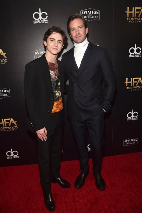 Timothee chalamet and armie hammer IAMMRFOSTER.COM