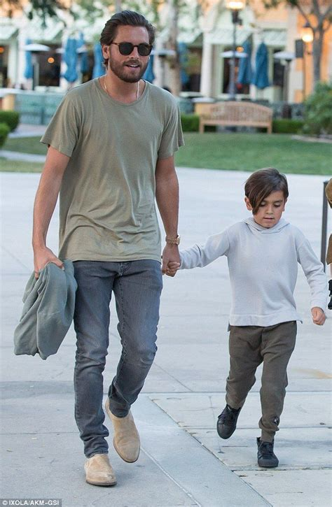 scott disick treats kourtney and their kids to mother s