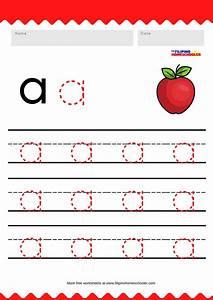 Free Lowercase Vowel Tracing Worksheets  U2014 The Filipino