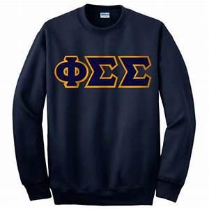 phi sigma sigma sorority crewneck sweatshirt greek With phi sigma sigma letter shirts