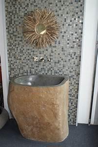 Cuisine drop dead gorgeous carrelage salle bain pierre for Salle de bain en pierre
