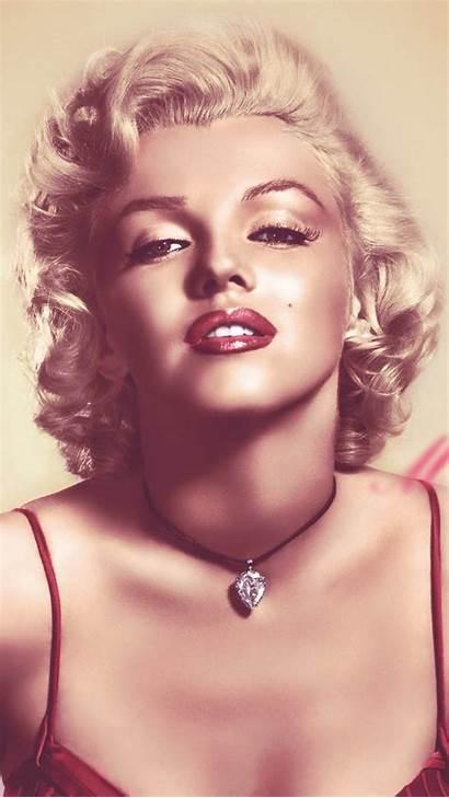 Monroe Marilyn Iphone Wallpapers Celebrities Norma Beauty
