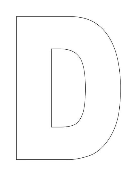 heres  simple alphabet letter  template  kids